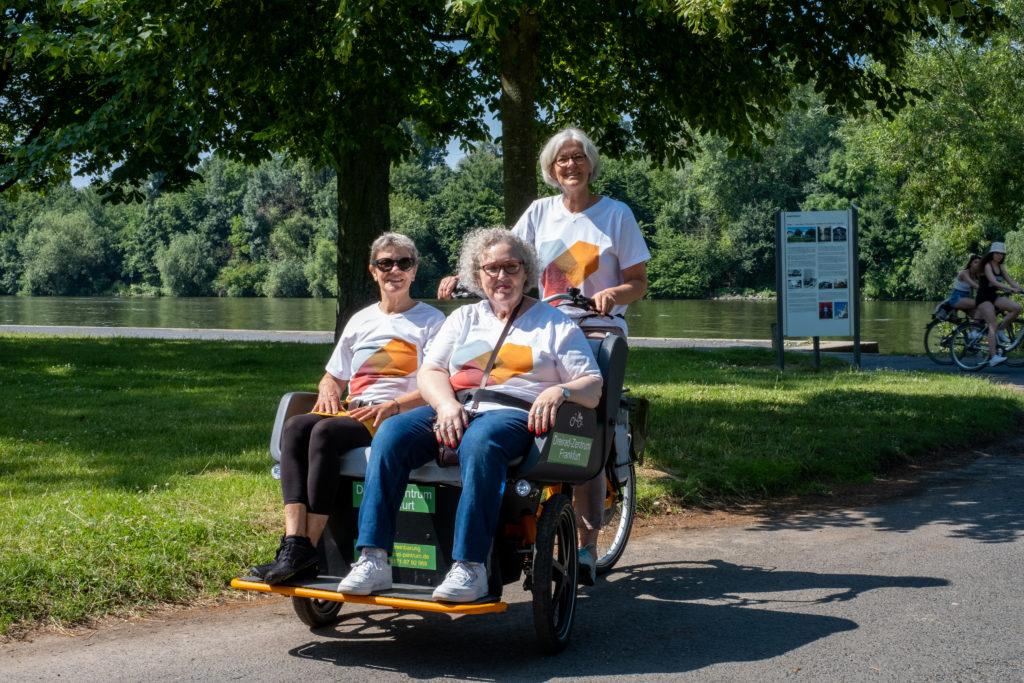 Impression der Aktion: Eine Rikscha für Offenbach: Touren erkunden